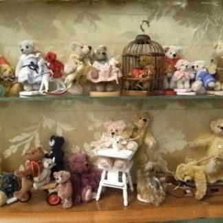Teddybären-Sammlung von Janine M. Unverkäuflich.
