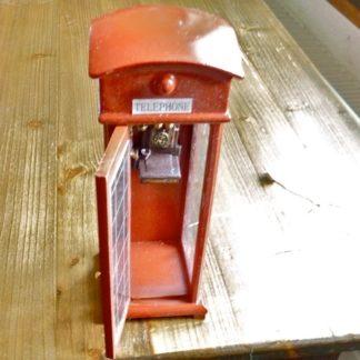 Englische Telefonkabine. Mit Licht