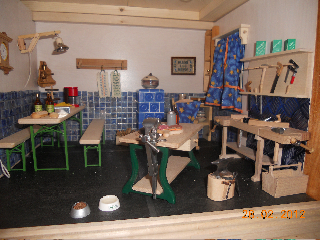 Puppenhaus vom Christine K. Unverkäuflich.