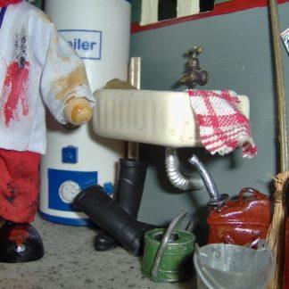 Puppenstube von Susi H. Unverkäuflich.