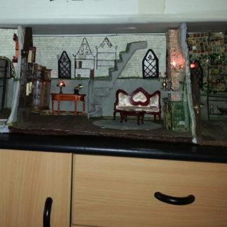 Wandpuppenhaus frei nach Harry Potter von Ella Sch. Unverkäufl.