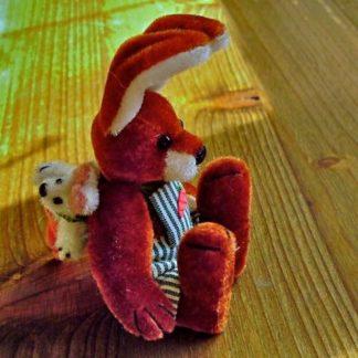 Miniatur-Hase (Clyde) mit Zertifikat. Lim. Aufl. Reduziert.
