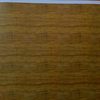Boden-Tapete (Wood Planks - Brown).