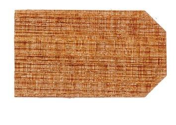 500 (ca.) Zedernholz-Ziegel/Schindeln (eher dunkler). Mitte Juni